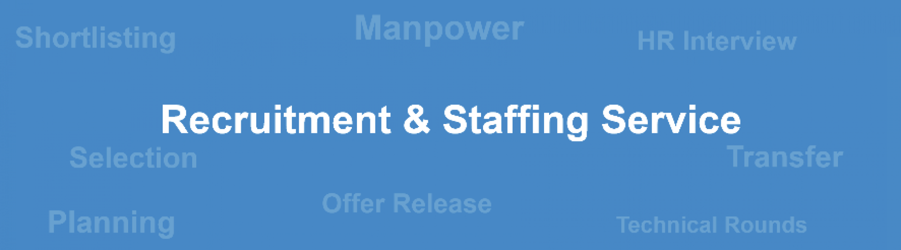 Recritment & Staffing